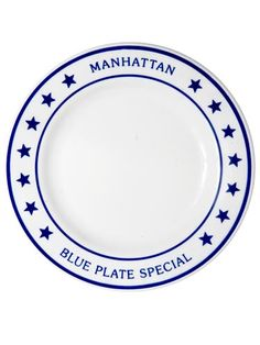 Get the Look: Blue Plate Special