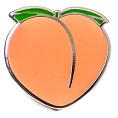PINTRILL 'Peach' Fashion Accessory Pin ($12) ❤ liked on Polyvore featuring jewelry, brooches, fillers, accessories, pin, peach, colorful jewelry, enamel brooches, peach jewelry and multi colored jewelry