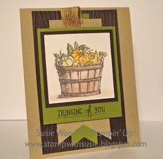 Stamp with Susie: Stampin' Up!- 'Basket of Wishes'