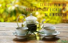 CEAIURI pentru detoxifierea zilnică a FICATULUI și RINICHILOR Bowl Set, Health Benefits, Natural Remedies, Cancer, Tea, Sports, Therapy, Recipes, Hs Sports