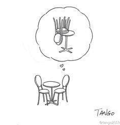 25 illustrations minimalistes, drôles et intelligentes de Shanghai Tango, qui…