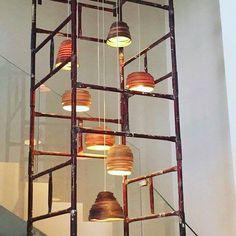 Bunch of small mix veneer Lamps  #vayehistudio #woodworking #woodwork #handmade #artandcraft #makers #productdesign #designinspiration #interior #homewares #designer #interiordesign #designers #homedecor #homestyling #light #lighthouse #lighting #interiordesign #instadesing #lightdesign #designstudio #עיצובפנים  #אדריכלות  #בלוגעיצובפנים #גלריה #רהיטי_יוקרה #עיצובישראלי #גופיתאורה #עבודתיד    #Regram via @studio_vayehi Pendant Lights, Arts And Crafts, Woodworking, Ceiling Lights, Studio, Lighting, Instagram Posts, Handmade, Design