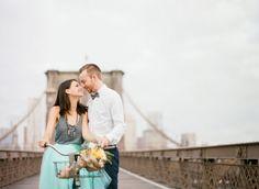 Brooklyn Bridge Anniversary | Brooklyn Bridge Anniversary | Tulle Skirt | NYC Wedding | Destination Wedding | Gray & Turquoise | Dumbo Wedding | Tulle & Grace Photography | Film | Fuji 400h | Contax 645 |www.tulleandgrace.com