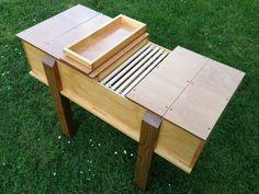 Plans for horizontal hive using deep frames