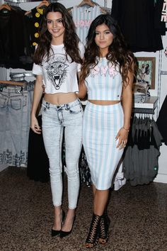 Kendall and Kylie Jenner Leads Today's Star Sightings