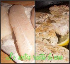Filetto di merluzzo al rosmarino, ricetta light