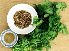 Coriander, also known as Cilantro, is a natural herb used extensively in many culinary dishes. Besides its pleasant aroma, it offers many health benefits and Coriander Oil, Coriander Cilantro, Coriander Leaves, Ground Coriander, Fresh Coriander, Spices And Herbs, Fresh Herbs, Cilantro Herb, Alkaline Foods