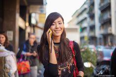 STYLE DU MONDE / Milan FW SS2014: Liu Wen  // #Fashion, #FashionBlog, #FashionBlogger, #Ootd, #OutfitOfTheDay, #StreetStyle, #Style