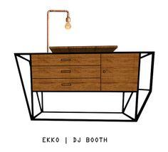 EKKO | DJ BOOTH - www.supermarked.nl