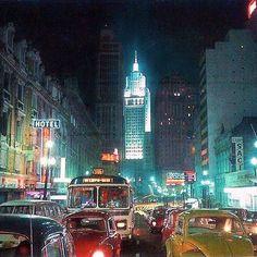 Avenida São João em 1970. Quem quer voltar no tempo?  #Saopaulocity #avenidasaojoao