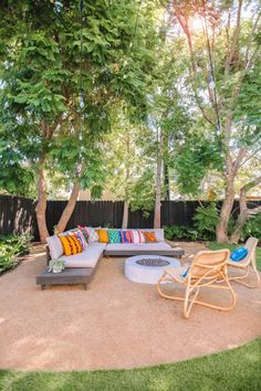 The Mindwelling: Our Colorful California Backyard Reveal - Studio DIY