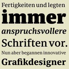 Schrift: Sindelar #Times -Alternative #Serifenschrift #Typo