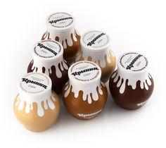 """Krinka"" Sour creame packaging by Pavel Kulinsky"