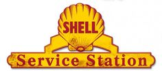 Shell Gas Service Station Grunge Sign 25 x 11 USA Made Powder Coated Steel Vintage Style Retro Gas Oil Garage Art Wall Decor by HomeDecorGarageArt on Etsy Films Western, Garage Art, Garage Signs, Garage Ideas, Shell Gas Station, Royal Dutch Shell, Pompe A Essence, Gas Service, Gas Pumps