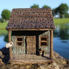 Fairy Wharf Hinged Door: Fairy Garden Miniature House