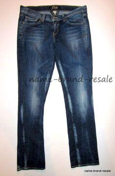 LUCKY BRAND Zoe Skinny Jeans Womens 8 29 Regular BLEACHED Denim Wash USA Made #LuckyBrand #ZoeSkinny