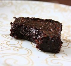 collecting memories: Fudgy Cocoa Avocado Brownies (Butter, Egg & Flour-Free)