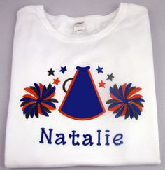 Personalized Custom Embroidered Appliqued Girls by KeyLimeOnline