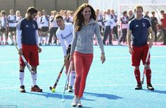 Duchess of Cambridge joins the British Olympic team