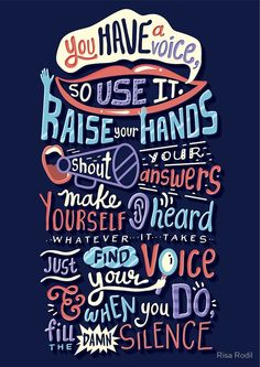 Here I have a collection of beautiful funky typography & retro lettering by Risa Rodil Book Quotes, Words Quotes, Wise Words, Me Quotes, Motivational Quotes, Inspirational Quotes, Sayings, Qoutes, Typography Quotes