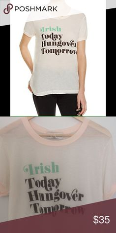 Wildfox t-shirt NWT no issues. Price firm. Wildfox Tops Tees - Short Sleeve