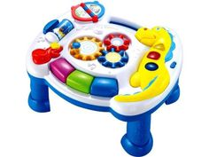 Your baby will discover melodies and a world of fun with the Learning Years Light N' Sound Activity Table. It can hang onto a crib while also doubling as an activity table to encourage your little one's fine motor skills. Pet Toys, Baby Toys, Kids Toys, Fisher Price, Baby Stuffed Animals, Crib Toys, Thing 1, Baby Invitations, Music Activities