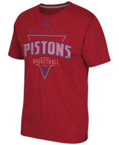 adidas Men s Detroit Pistons Three Points Feel Good T-Shirt Men - Sports  Fan Shop By Lids - Macy s 31f31416e161