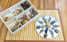 Nature Tinker Tray Loose Parts Exploration Mandela Fine Reggio Emilia Classroom, Reggio Inspired Classrooms, Montessori Classroom, Classroom Setting, Classroom Displays, Sensory Boards, Circular Mirror, Play Based Learning, Kids Learning