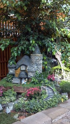 Now here is a great fairy home.