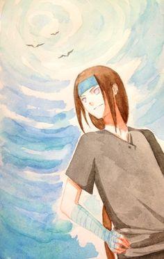Neji Hyuga lovely fan art style!