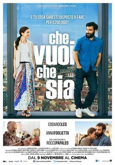 Che vuoi che sia, scheda del film di Edoardo Leo con Anna Foglietta, Rocco Papaleo e Marina Massironi, leggi la trama e la recensione, guarda il trailer, trova il cinema.