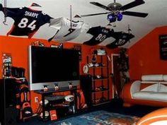 Hubby's Man Cave