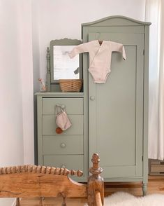 Toddler Rooms, Hearth And Home, Nursery Neutral, Armoire, Kid Spaces, Simple House, Kids Bedroom, Room Inspiration, Nurseries