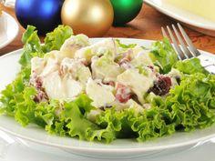 Receta: Ensalada navideña con manzanas Una receta deliciosa para tu cena de Navidad Organic Recipes, Mexican Food Recipes, Ethnic Recipes, Apple Recipes, Holiday Recipes, Cookout Side Dishes, My Favorite Food, Favorite Recipes, Salad Recipes