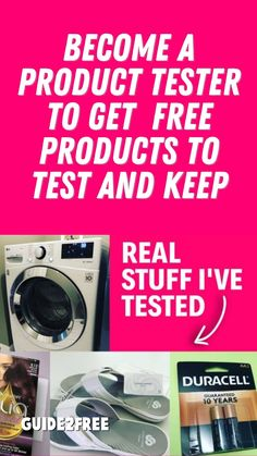 Free Stuff By Mail, Get Free Stuff, Become A Product Tester, Single Mom Help, Yorkies, Free Samples, Extra Money, How To Become, Guns