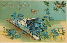 The Daily Postcard: Happy Birthday, Auntie Freeman