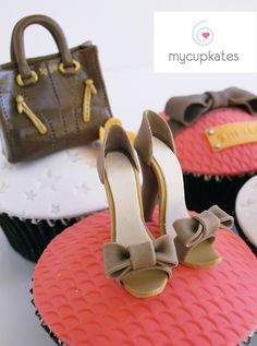 MyCupKates - Cakes, Cupcakes & Cookies: Shoes & Bags Cupcakes (For Ladies)