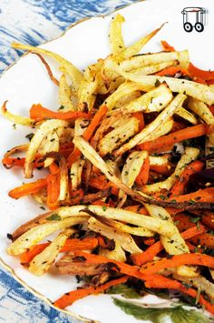 Quick Cheap Tasty : Home-made french fries of parsley and carrot with ...