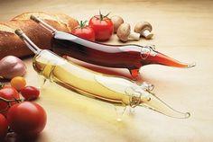 Fancy - Weiner Dog Oil & Vinegar Set for the kitchen