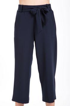 Pantalone gaucho con fiocco