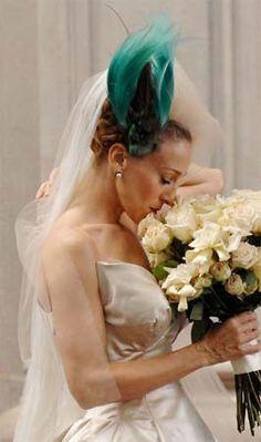 carrie-bradshaw-wedding-headpiece = FABULOUS!!!!