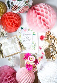 """Ich bin eine """"Boho Braut Party""""-Box #PartyausderBox #Party #Braut Party #BridalShower"""