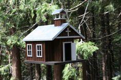 Little Brown Church Birdhouse!