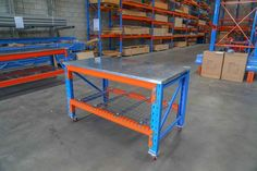 The Modular Storage Systems team design Workbenches that help you work and pick more efficiently. Our team is located in Brisbane and the Gold Coast. Pallet Lift, Pallet Racking, Metal Projects, Home Projects, Garage Organisation, Brisbane Gold Coast, Modular Storage, Racking System, Workbenches