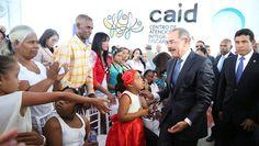 VIDEO:  Presidente y Primera Dama entregan CAID-San Juan