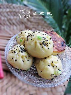 Shanghai sheng jian bao - 生煎包的做法