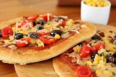 Skillet Pizza - There is nothing like a home-made pizza! fast delicious and great treat Easy and simple, success guaranteed. pizza recipe by nikib the best Personal Pizza, Melted Cheese, Dry Yeast, Pizza Recipes, Bruschetta, Quick Easy Meals, Vegetable Pizza, Good Food, Homemade