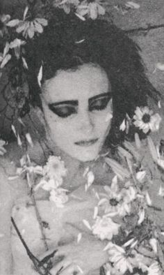 "eliza-ray: ""  Siouxsie Sioux Photographed by Adrian Boot  """