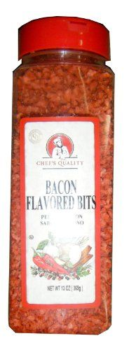 Chef's Quality Bacon Flavored Bits 13 OZ >> Discover this special product, click the image : Dinner Ingredients.