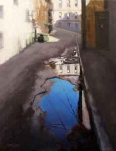 alley reflection - Dan Graziano